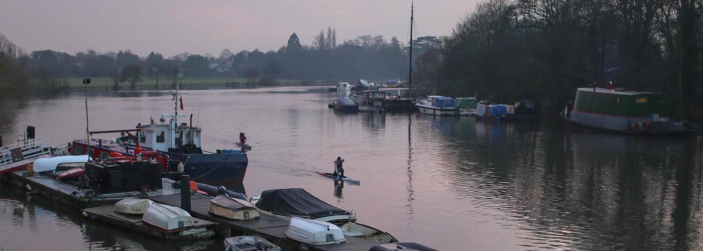 Thames Canoe Trip
