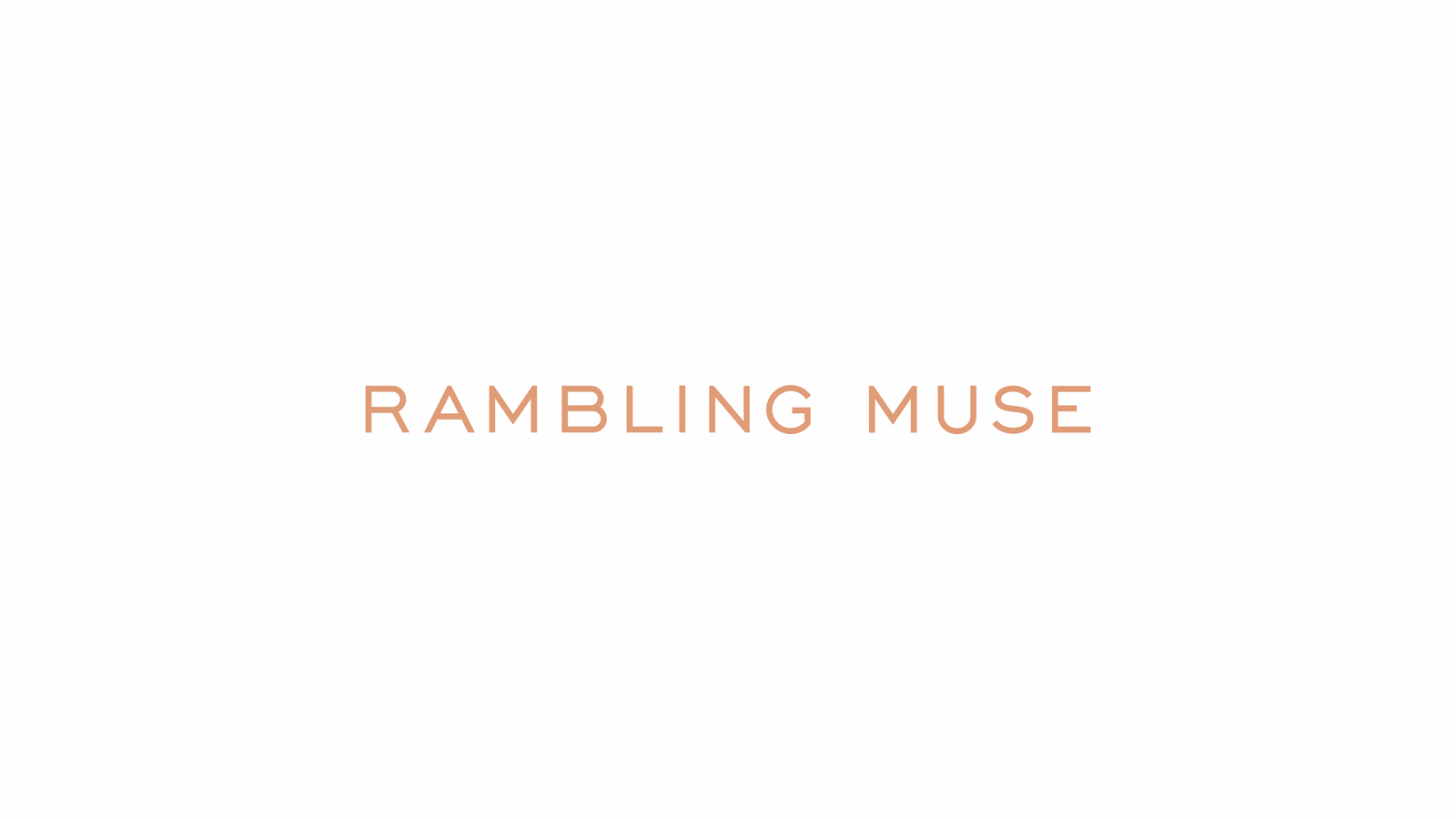 Rambling Muse