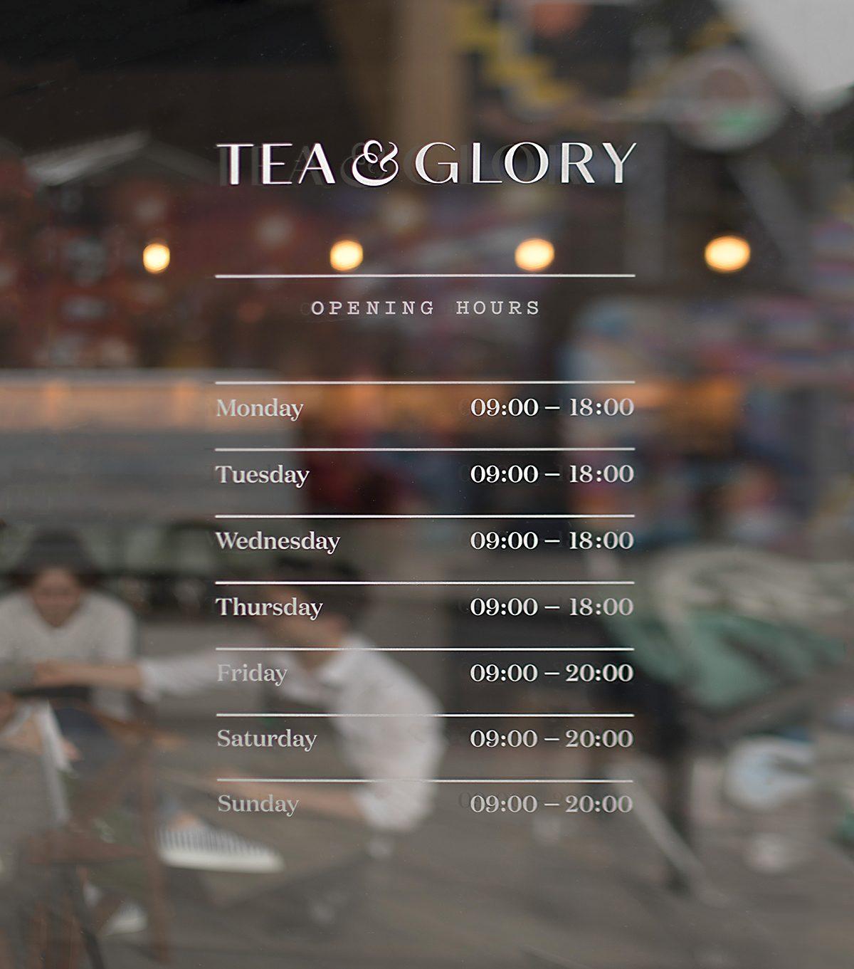 Tea & Glory